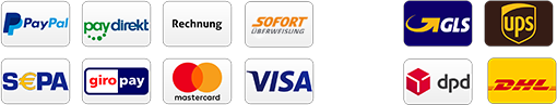 PVC Banner Zahlungsarten