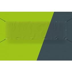 Transparentes Schutz-Banner