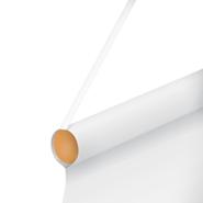 Schaufenster Banner Holzstab mit Kordel
