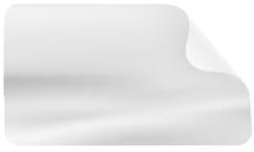 Selbstklebefolie Monomere Folie (transparent, ablösbar)
