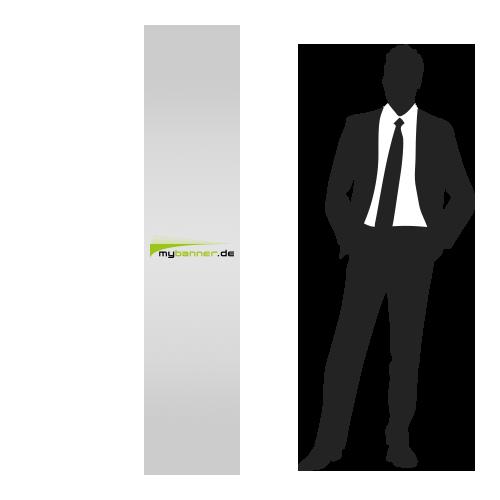 Displayaufsteller mit Produktpräsenter 40 x 190 cm (gefaltet 47,2 x 40 cm)