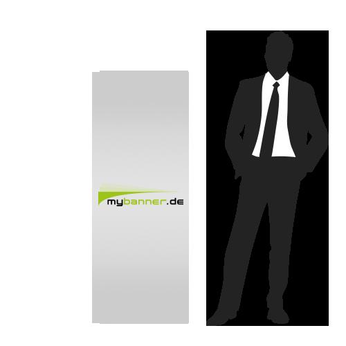 Displayaufsteller mit Produktpräsenter 60 x 156 cm (gefaltet 38,7 x 60 cm)