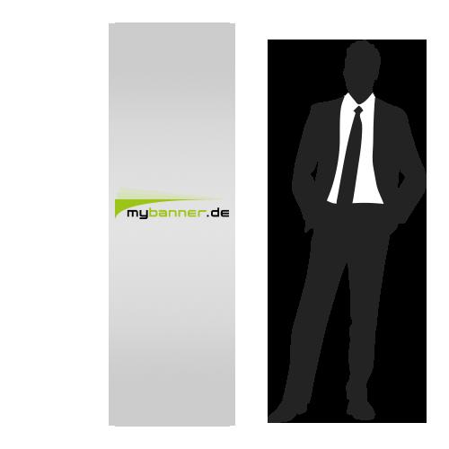 Displayaufsteller mit Produktpräsenter 60 x 190 cm (gefaltet 47,2 x 60 cm)