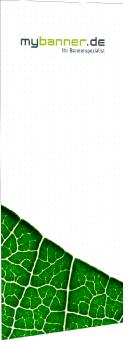Freistehender Business Spannrahmen Banner (nur Druck ohne System)