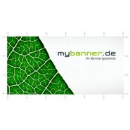 Doppelseitiger Alu-Kundenstopper 200 x 100 cm