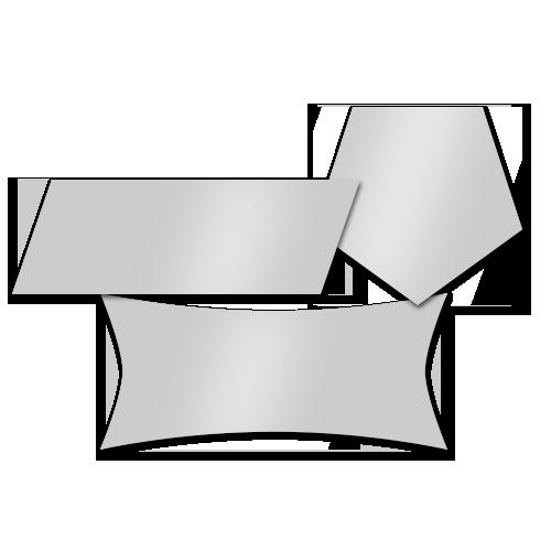 Easy Dot Aufkleberfolie Folienkonturschnitt