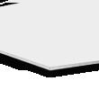 Hartschaumplatten 1 mm Hartschaumplatte