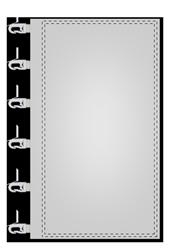 Fahnen für Masten Kunststoffkarabiner an der Mastseite (links)