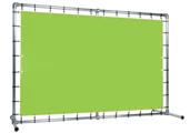 Rahmensystem für Banner freistehendes System (ohne Bodenabstand)