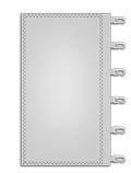 Werbefahnen im Siebdruck Kunststoffkarabiner rechts
