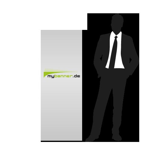 Displayaufsteller Ellipse Standard 60 x 160 cm