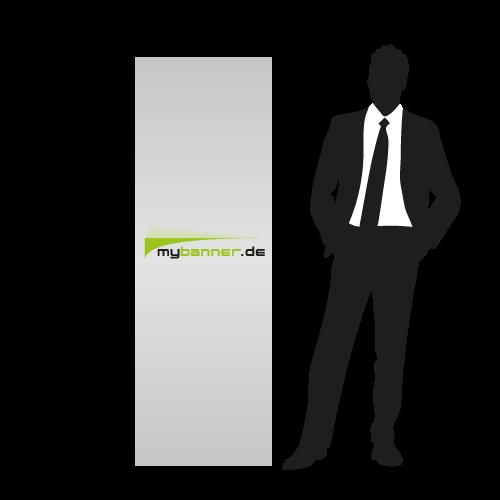 Displayaufsteller Ellipse Standard 60 x 180 cm