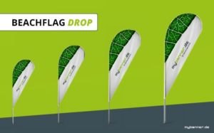 Beachflag Drop