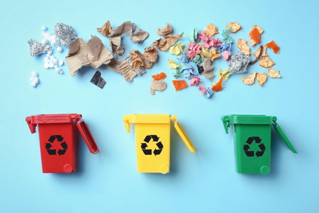 Mülltonnen Recycling