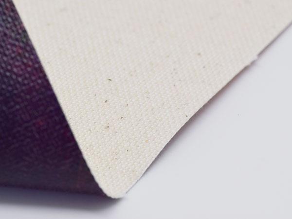 Canvas Materialansicht hinten
