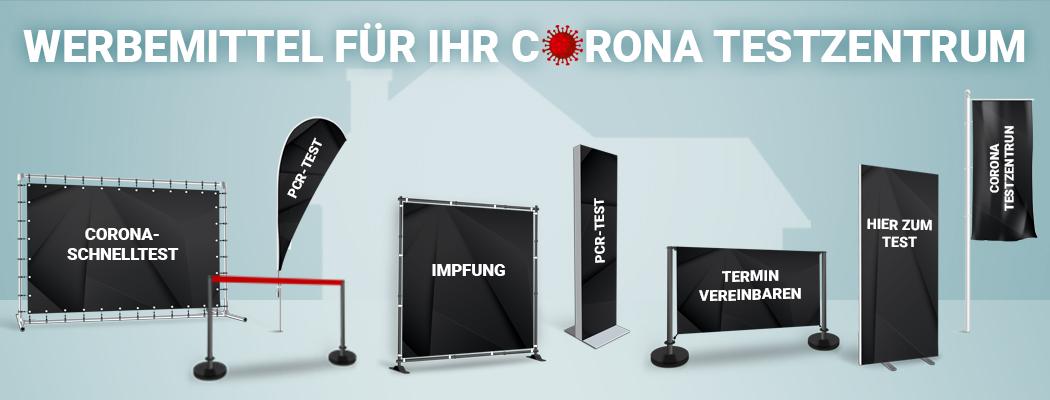 Corona Testzentrum Produkte
