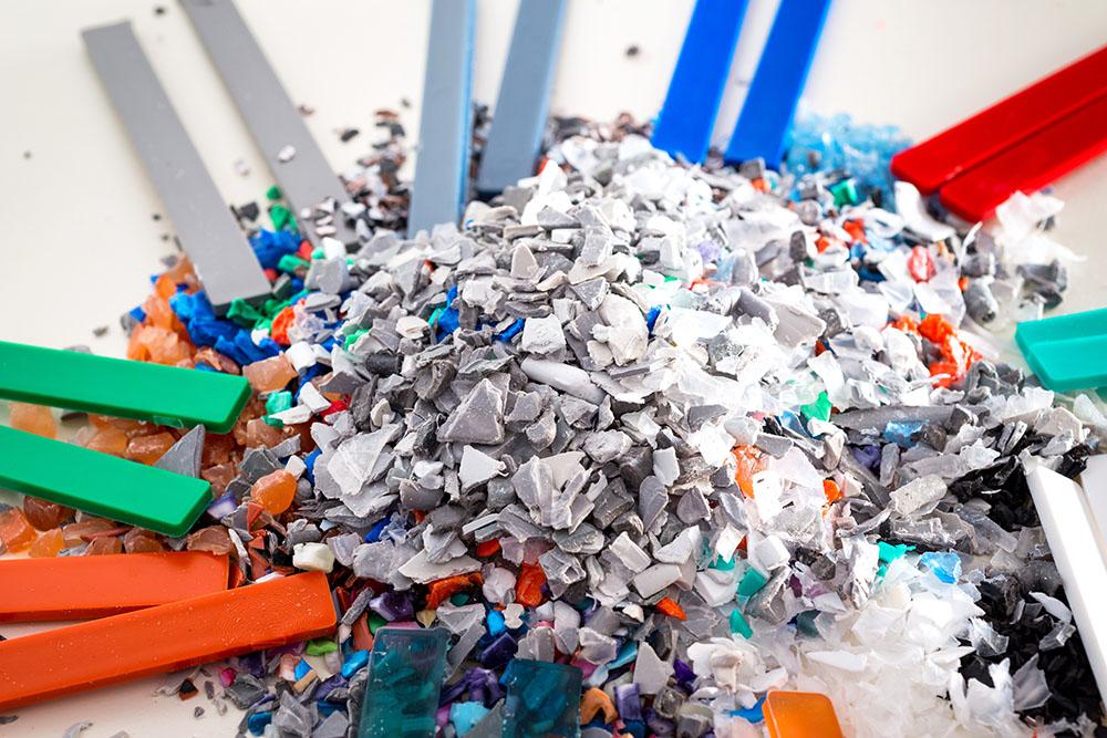 Granulat PVC Wiederverwertung