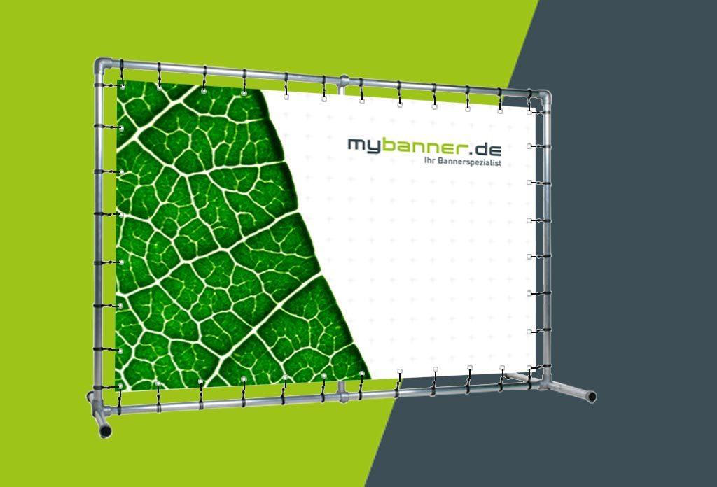 MyBanner Bannerrahmensystem mit Druck