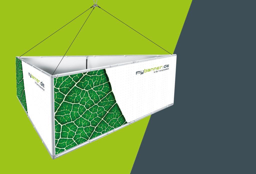 MyBanner Deckensystem Dreieck