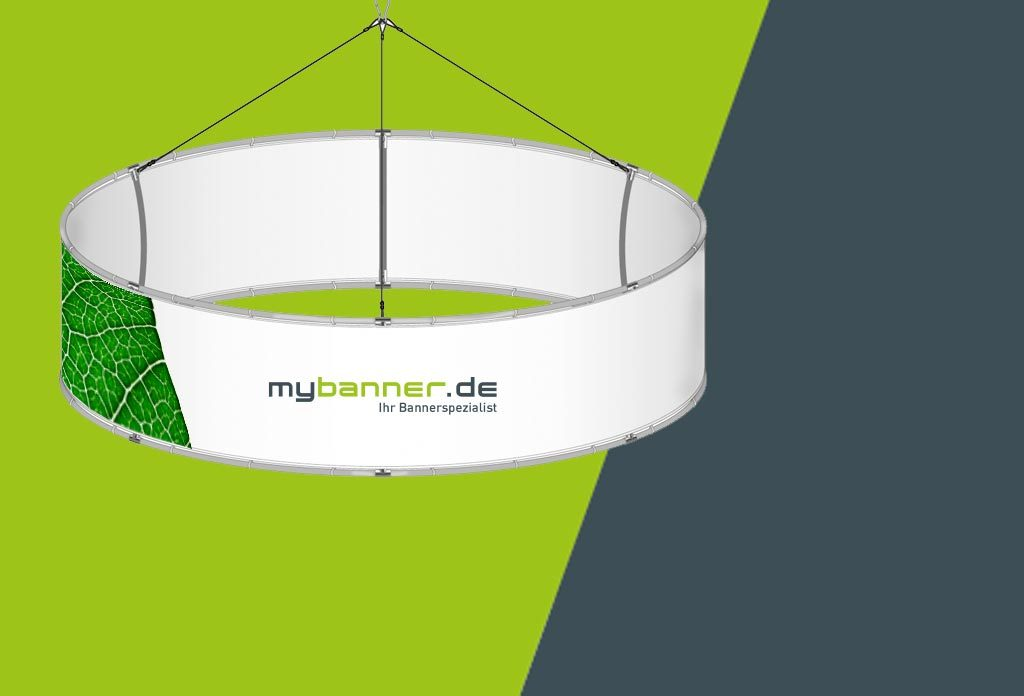 MyBanner Deckensystem Kreis