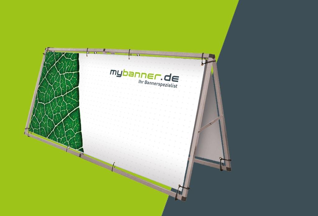 Beidseitiges Bannersystem Produktbild