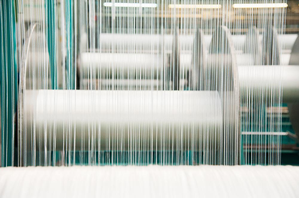 Polyester Kunstfasergewinnung