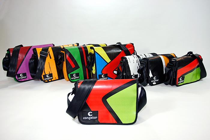 Recycelte Taschen Cargo Bags